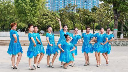 简单中三步舞蹈视频黄玫瑰 含美久教学分解