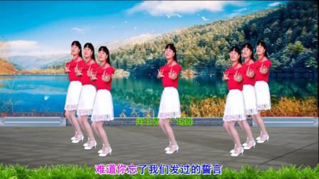 简单中三步舞蹈视频 河北青青站着等你三千年分解教程