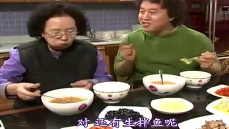 搞笑一家人:韩国吃货母子吃顿烤肉就很高兴,饭量超级大