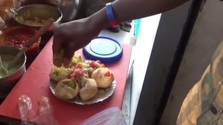 印度街头美食:最流行的国民小吃,这是什么小吃?