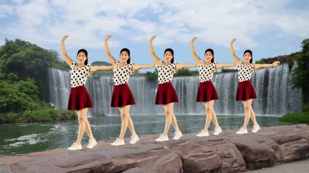 自由舞步32步广场舞《真正的朋友》唱出朋友间的真挚感情!