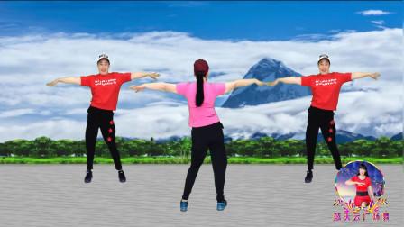 点击观看《蓝天云健身操视频《阿萨》正反面演示》