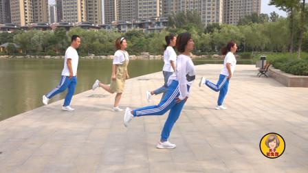 鬼步舞基础教学《秋千步》,老师现场教,像荡秋千一样好玩