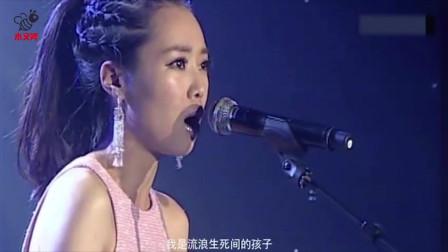 厉害云朵,刀郎最撕心裂肺的歌曲,却被她演绎的这么好