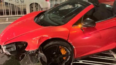 400万超跑北京街头撞护栏 肇事司机被曝为知名网红