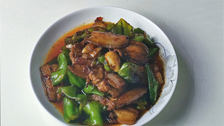 vlog美食猪肉一道家常做法,回味无穷,三碗米饭都不够吃的