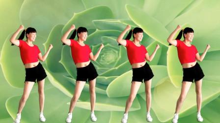 点击观看《阿真零基础减肥健身操《火火的爱》一看就会跳的舞蹈视频》