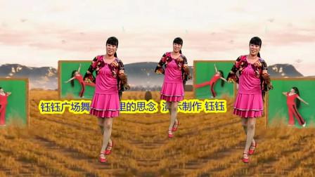 点击观看《休闲健身广场舞视频《山谷里的思念》一看就会的》