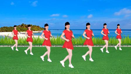 点击观看《益馨16步广场舞视频《踏浪》附0基础教学分解》