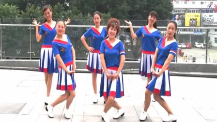 重庆明佳广场舞视频《情路湾湾》网红混搭风步子舞