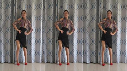 神农舞娘零基础舞蹈视频《一去不回》 简单步子舞