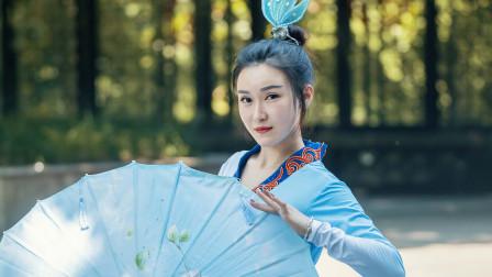仙气古典舞《白蛇》好看中国舞视频