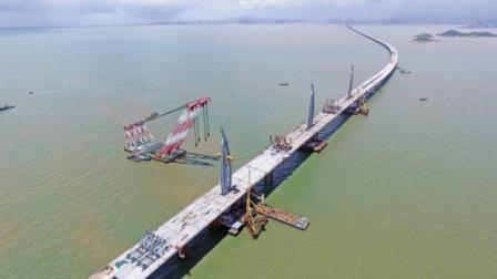 台湾海峡有多宽?中国工程师再次发威,连接两岸,国人纷纷叫好!