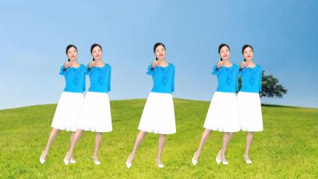 新生代健身操《语花蝶》32步简单无基础舞蹈视频