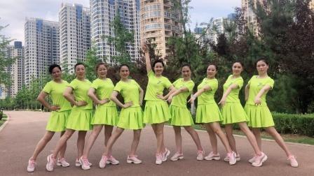 美久广场舞视频《我爱民族风》动感舞蹈附导师分解教学