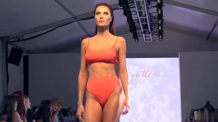 2020迈阿密泳装周GOTTEX模特走秀,魅力四射的选手,气场十足