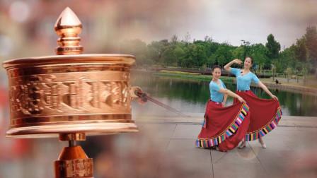 云朵飞扬藏族舞视频《那一年那一世》跳出了精髓!跳出了神韵!