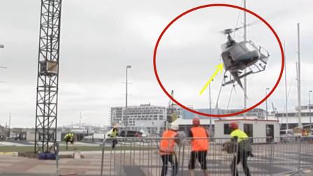 飞行员操作失误,直升机突然坠机!视频拍下可怕的全过程