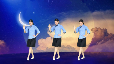 新生代32步广场舞视频《香吻留给心上人》好听醉人