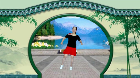宜阳明萱广场舞 妹妹你是我的人 网红流行欢快轻松32步.