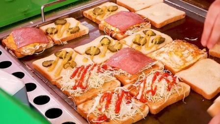 【街头美食】韩国街头小吃吐司