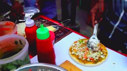 印度美食:印度的披萨,怎么感觉制作好简单啊