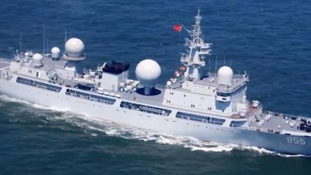 美日澳三国演习正酣,一艘中国军舰不请自来