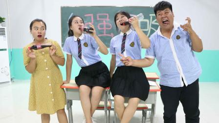 学生挑战可乐摇五下,迅速打开20秒不溢出,没想被女同学一招解决