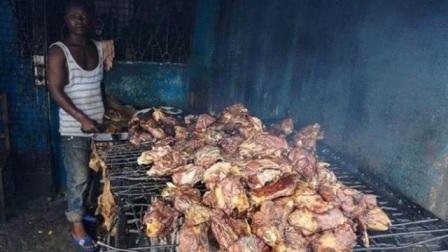 中国吃货不敢吃的东西,结果被非洲人吃到快灭绝,一天能吃上万斤