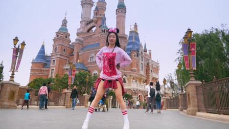 点击观看《【NANA】迪士尼小姐姐大跳恋爱舞蹈《nonono》》