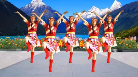 点击观看简单藏族舞视频《欢乐的海洋》附小慧教学视频视频