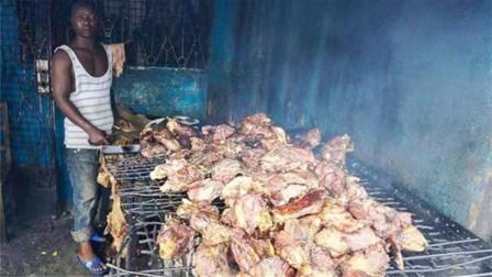 这货中国人不敢吃,却在非洲被吃到快灭绝,网友:甘拜下风!
