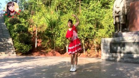 简单好学公园广场舞视频《你们在忙啥》金盛小莉舞蹈示范