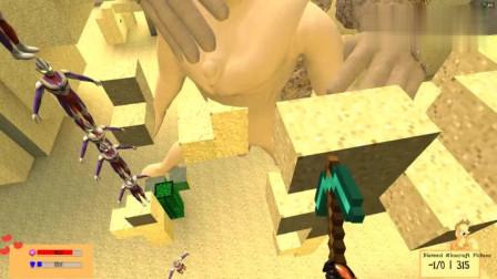 GMOD游戏沙漠守护者把奥特曼变成沙子