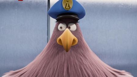 """《愤怒的小鸟2》""""厕所行动""""片段 猪鸟爆笑奇遇"""