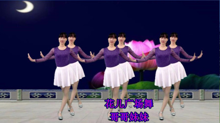 基础入门32步广场舞视频《哥哥妹妹》一学就会