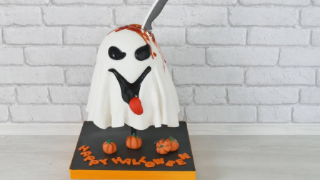 """重口味吃货的福利来啦!牛人发明""""午夜幽灵""""蛋糕,创意又美味"""