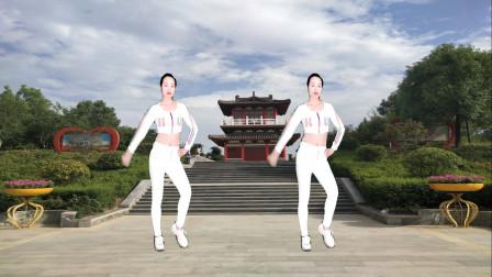 点击观看《轻松入门现代舞视频至少有你陪我 驿成微笑广场舞》