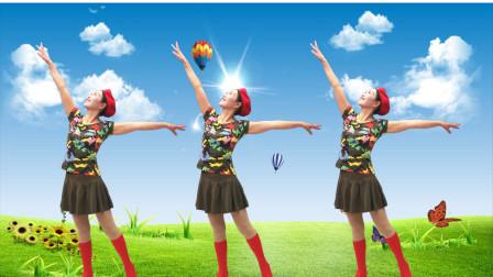 点击观看《玖月0基础广场舞蹈视频 共筑中国梦附分解教学》