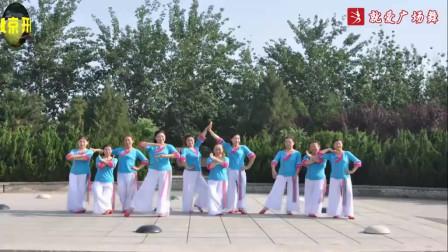 北京开心舞蹈队学跳爱吾《梦金园》 0基础广场舞