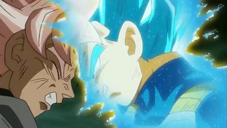 龙珠:贝吉塔捏着黑悟空的头发对他说,因为你是假货,所以打不过我