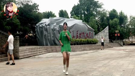 点击观看《金盛小莉简单无基础舞蹈视频《玫瑰花开》适合中老年人》