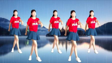 弹跳35步健身舞视频《多情的雨夜更想你》阿真舞蹈简单好看