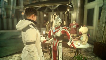 小祁历险记联机01:我是赛罗的人间体,奈克赛斯要和我比赛打怪兽