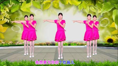 河北青青广场舞《老婆最大》附背面演示口令分解双教学