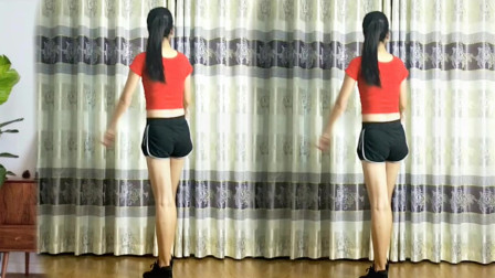 点击观看《最新32步舞蹈教学分解 鹤塘紫儿广场舞手把手教你跳鳌拜鳌拜》