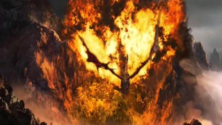 魔兽世界:大地的裂变开场动画CG,死亡之翼出来的那一刻,老玩家表示不淡定了