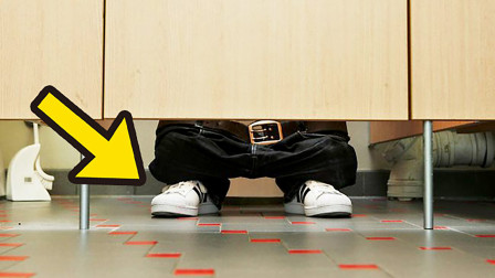 为什么公厕的门都会空一截?8个你忽略了的冷知识