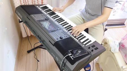 电子琴演奏经典老歌《牡丹之歌》,非常好听,百听不厌