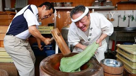 无影手如何练成?糯米团放在木缸中,手速真是服气!